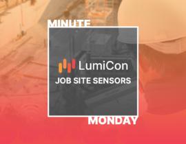 What Are LumiCon Job Site Sensors?